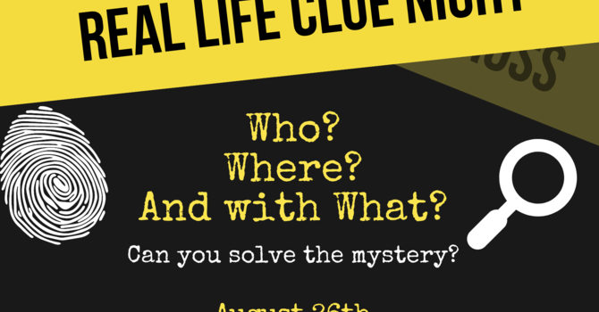 Real Life Clue Night - Youth