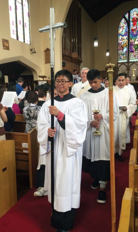Episcopal  Church Comes to St. Michael's