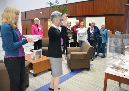 The Blessing of the Archival Display Cases