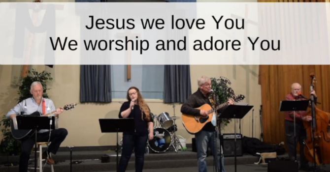 Join us In Worship image