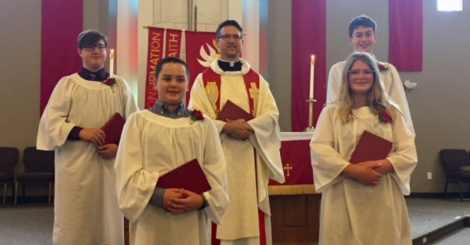 Congratulations to our Confirmation Class May 2021 image