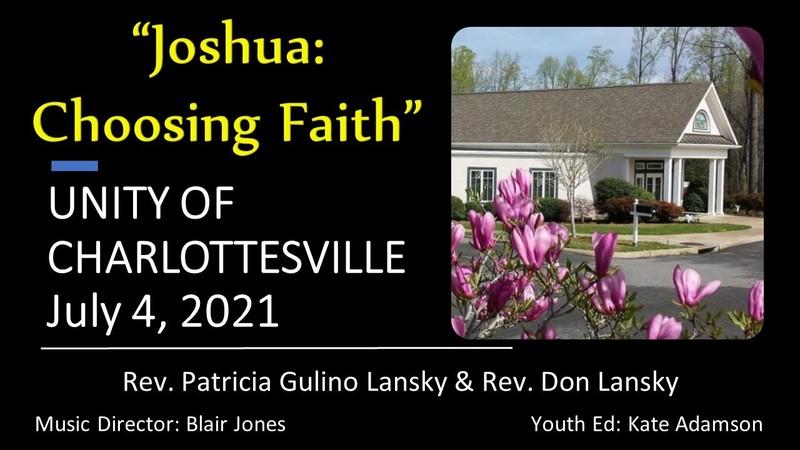 Joshua: Choosing Faith