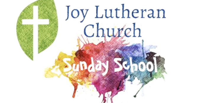 Sunday School  - Public Service Announcement image