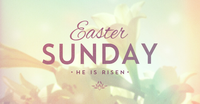 Easter Sunday - Seeing God in the World image