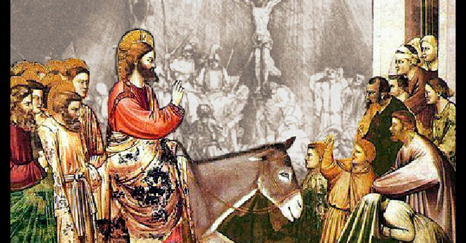 Palm Sunday - What it Takes to Journey into Jerusalem  image