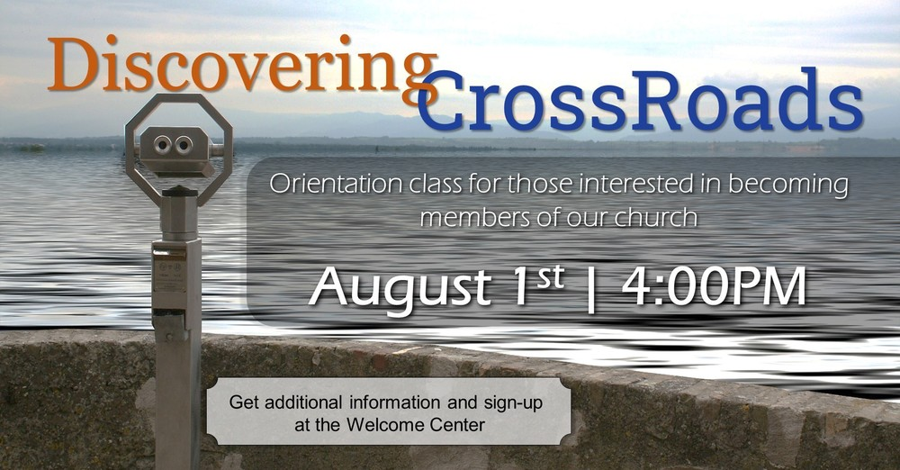 Discovering CrossRoads
