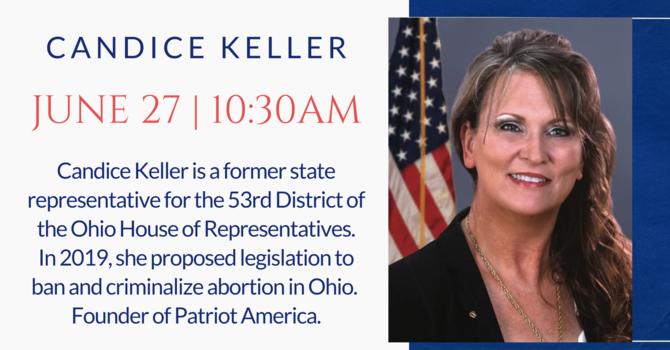 Guest Speaker Candice Keller