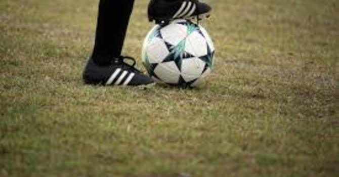 Senior Boys' Soccer Practice