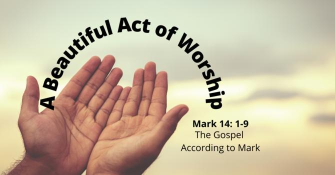 A Beautiful Act of Worship