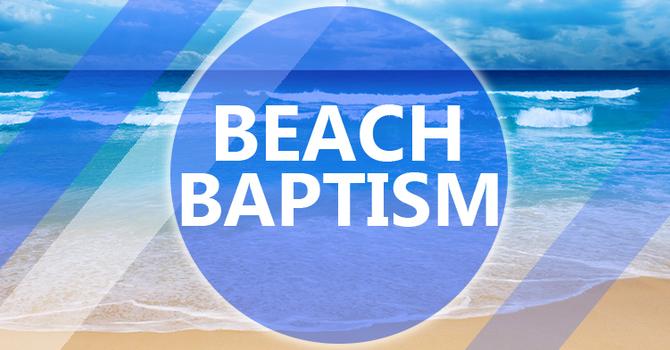 Beach Baptism at Sand Key Beach
