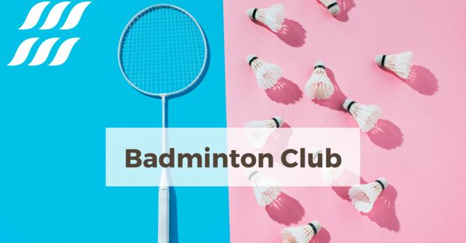 High School Badminton Club
