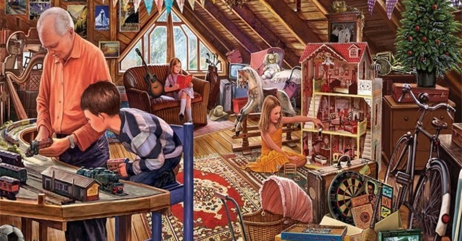 Attic Treasures Sale in the Courtyard image