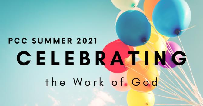CELEBRATING THE WORK OF GOD image