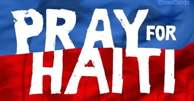 Pray for Haiti image