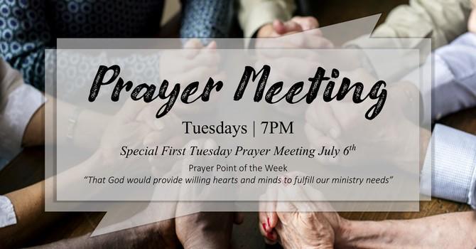 Tuesday Prayer Meeting
