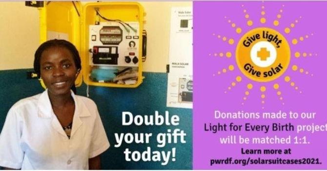 PWRDF Light for Every Birth