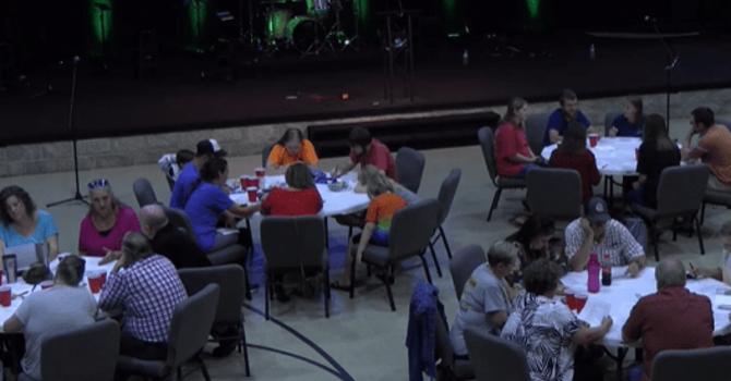 Wednesday night scripture reading and prayer image
