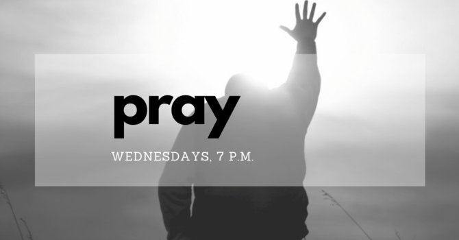 Join us at CMC, for prayer.