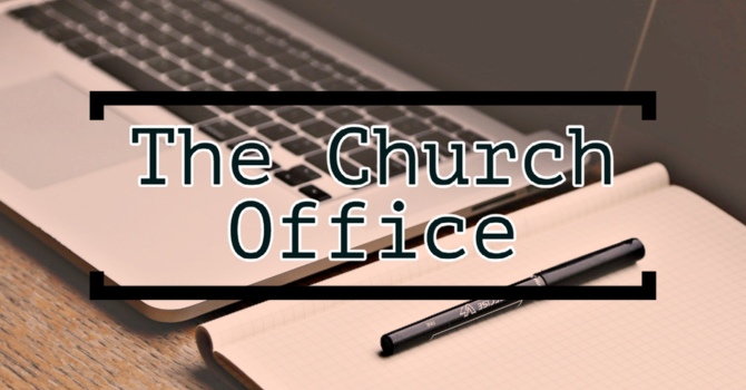 The Church Office - Ep. 1  |  Injection of Energy image