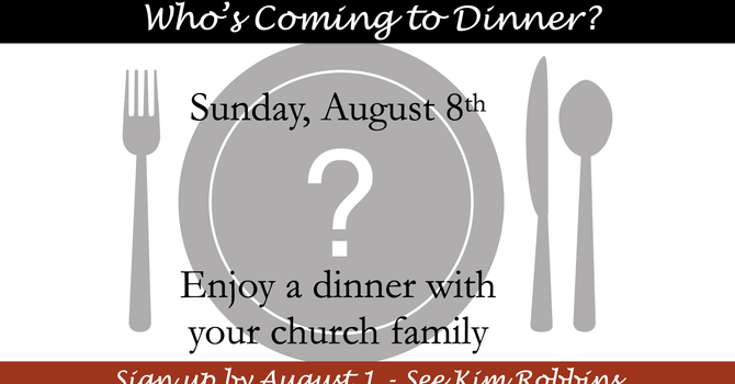 Who's Coming to Dinner? image