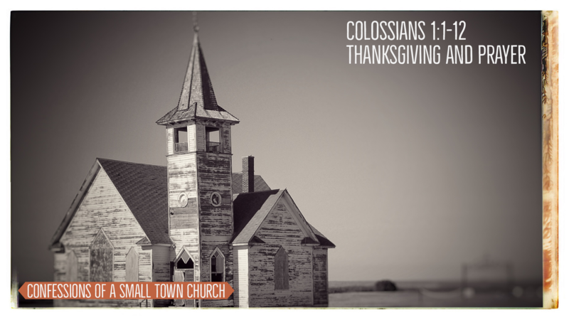 Thanksgiving and Prayer