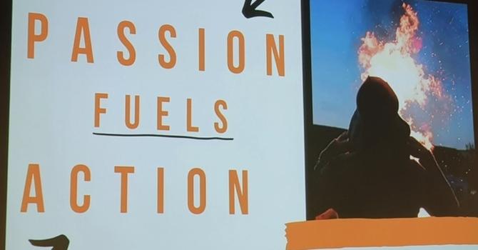 Passion fuels action