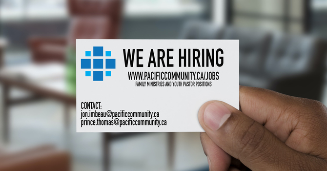 WE ARE HIRING image