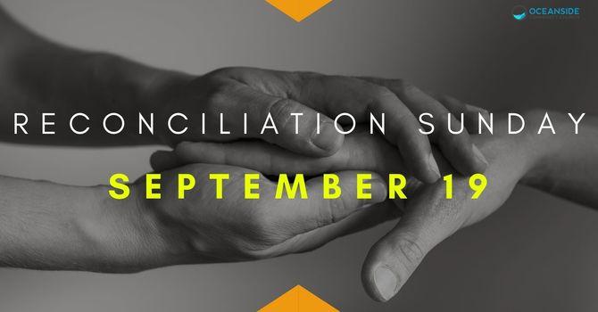 Reconciliation Sunday