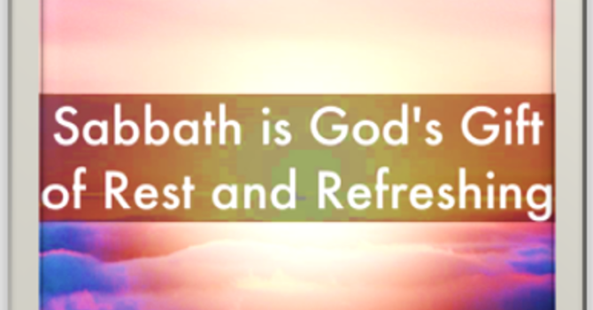 Sabbath Rest: Restoring My Soul (S,Z)