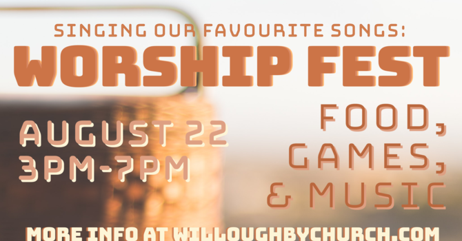 Singing Our Favourite Songs: Worship Fest