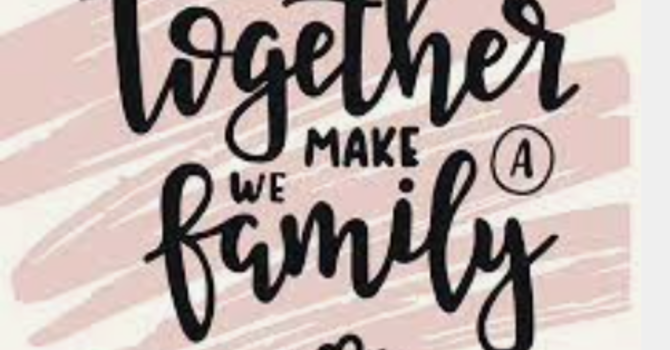"""""""We are all Family"""""""
