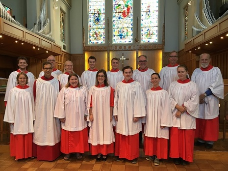 The Choristers of St John the Divine