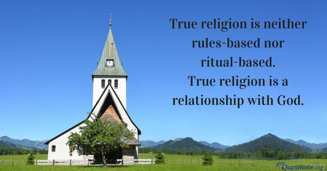 True Religion Sets Us Free!  image