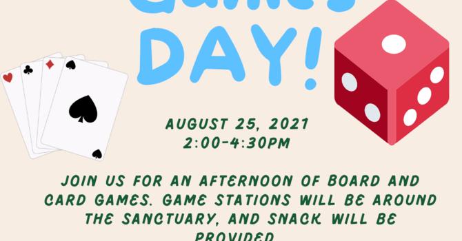 Wacky Wednesday Windup - Games Day!!