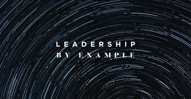 Leadership By Example
