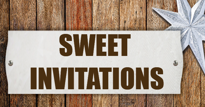 Sweet Invitations! image