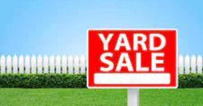 St. Luke's Hubbards Yard Sale