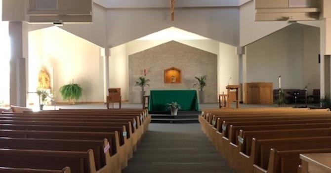 Increased Capacity at Mass begins July 17 image