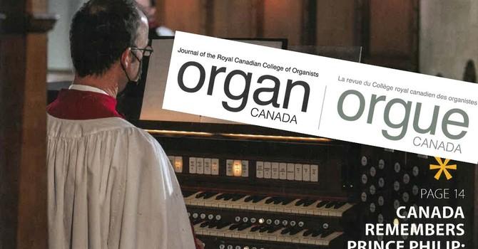 Organ Canada features Commemorative Ceremony image