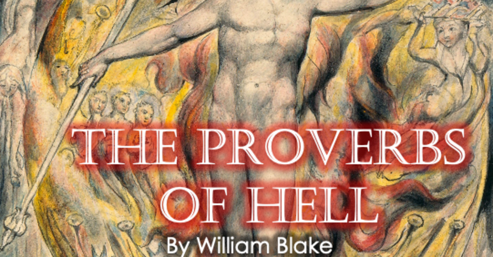 """Bible for Busy People - """"The Proverbs of Hell"""""""