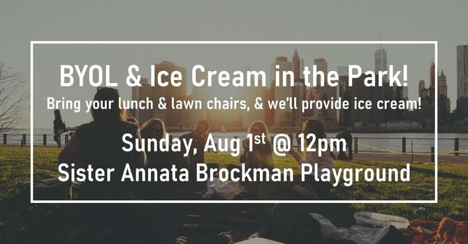 BYOL & Ice Cream in the Park!
