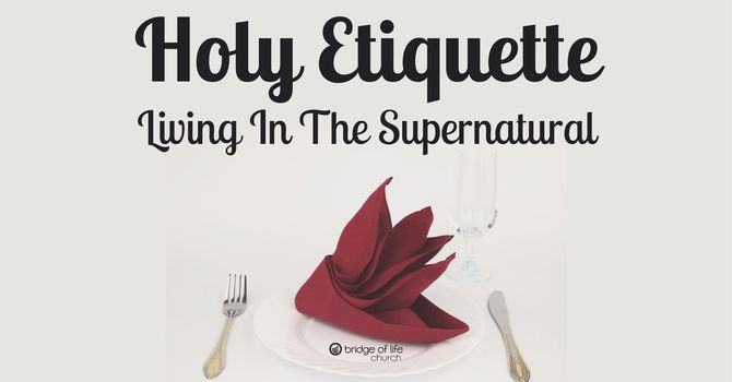 Holy Etiquette: Sweet Relief