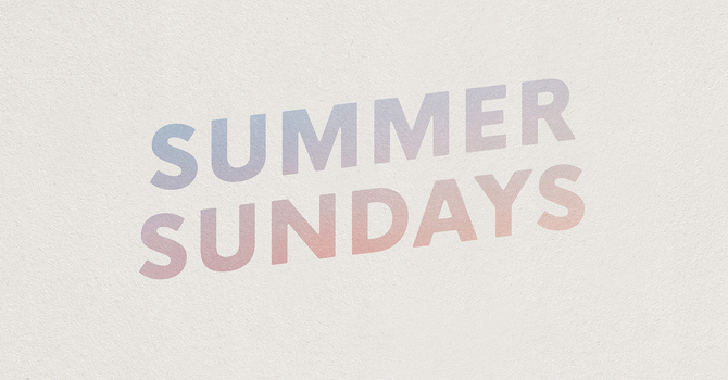 Summer Sundays 2021