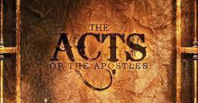 Acts 5:38-6:15