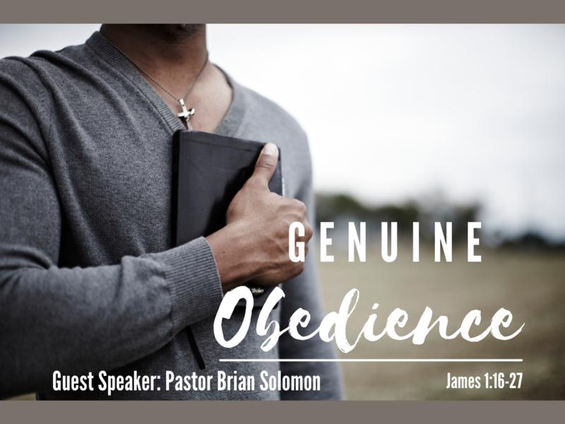 Genuine Obedience