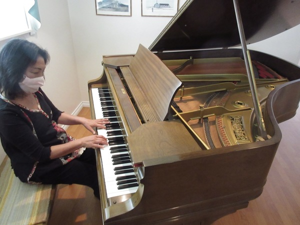 A new piano for St Agnes