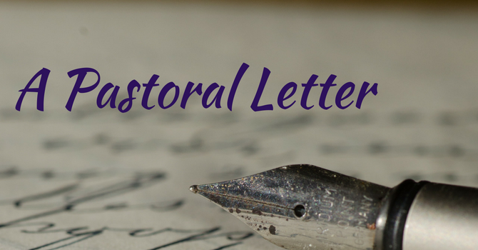 Bishop Bell's Pastoral Letter to the Diocese image