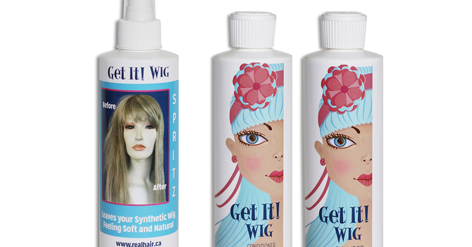 Get It! Professional Wig Spritz, Shampoo & Conditioner
