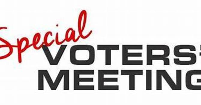 Special Voters Meeting