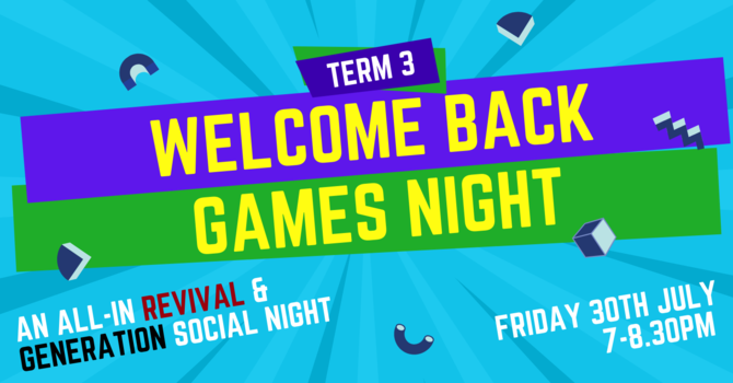 Welcome Back Games Night